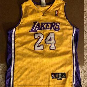 Adidas Kobe Bryant LA Lakers NBA #24  Jersey